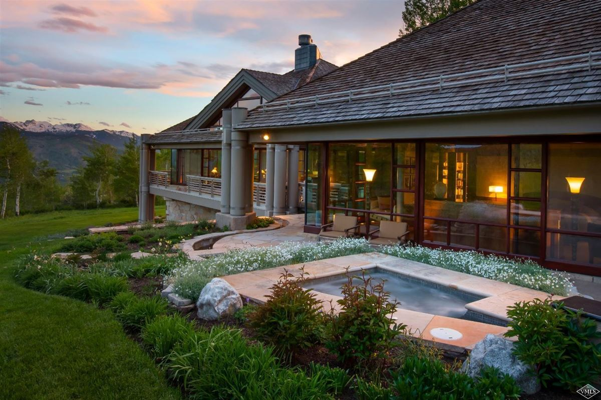 superior contemporary in serene private setting mansions