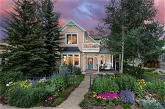 Mansions Downtown Victorian-style home