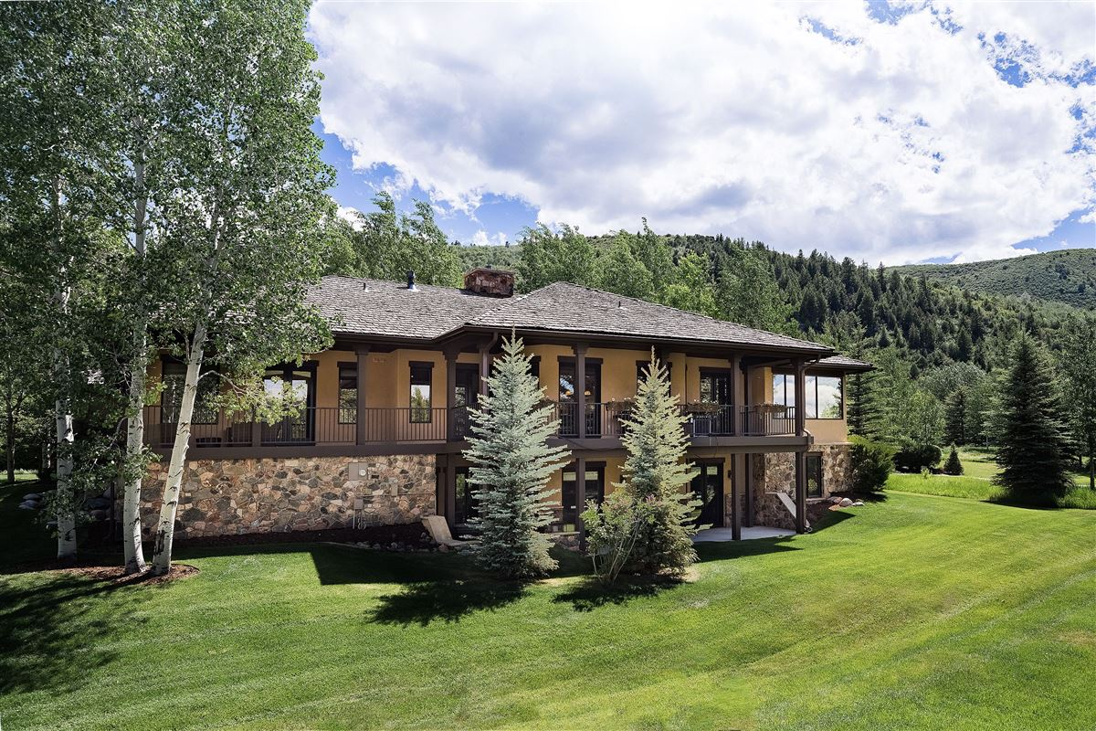 Luxury real estate beautiful two-level Ranch Style home