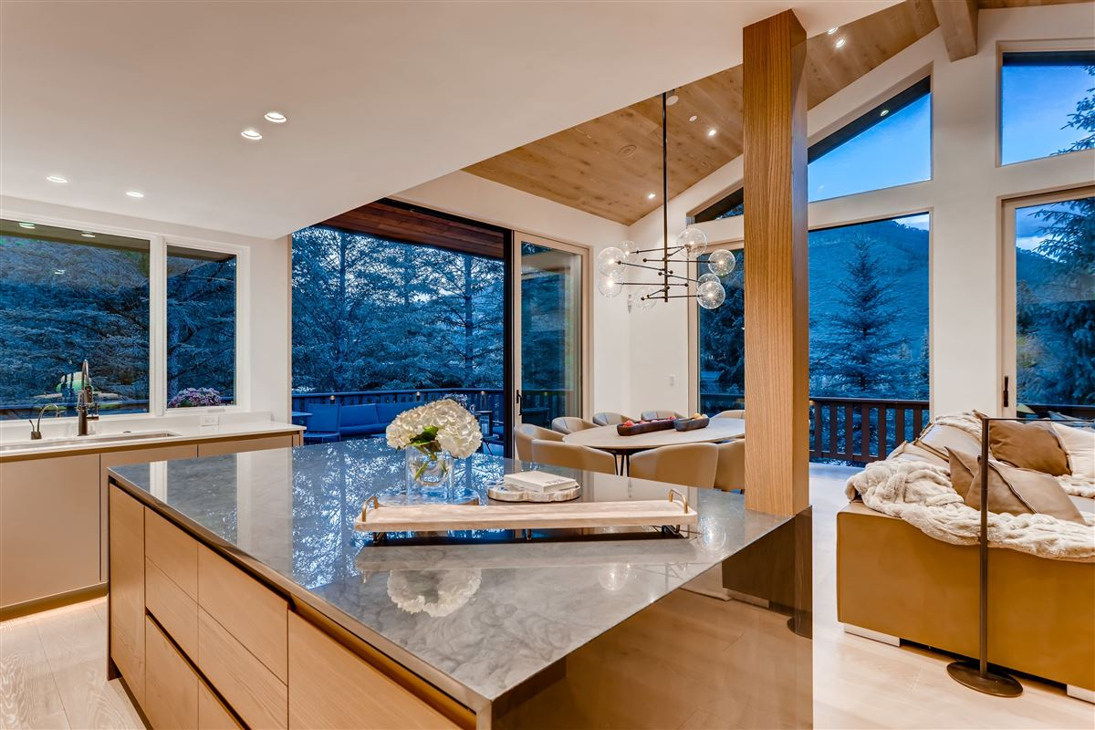 thoughtfully updated contemporary home luxury homes