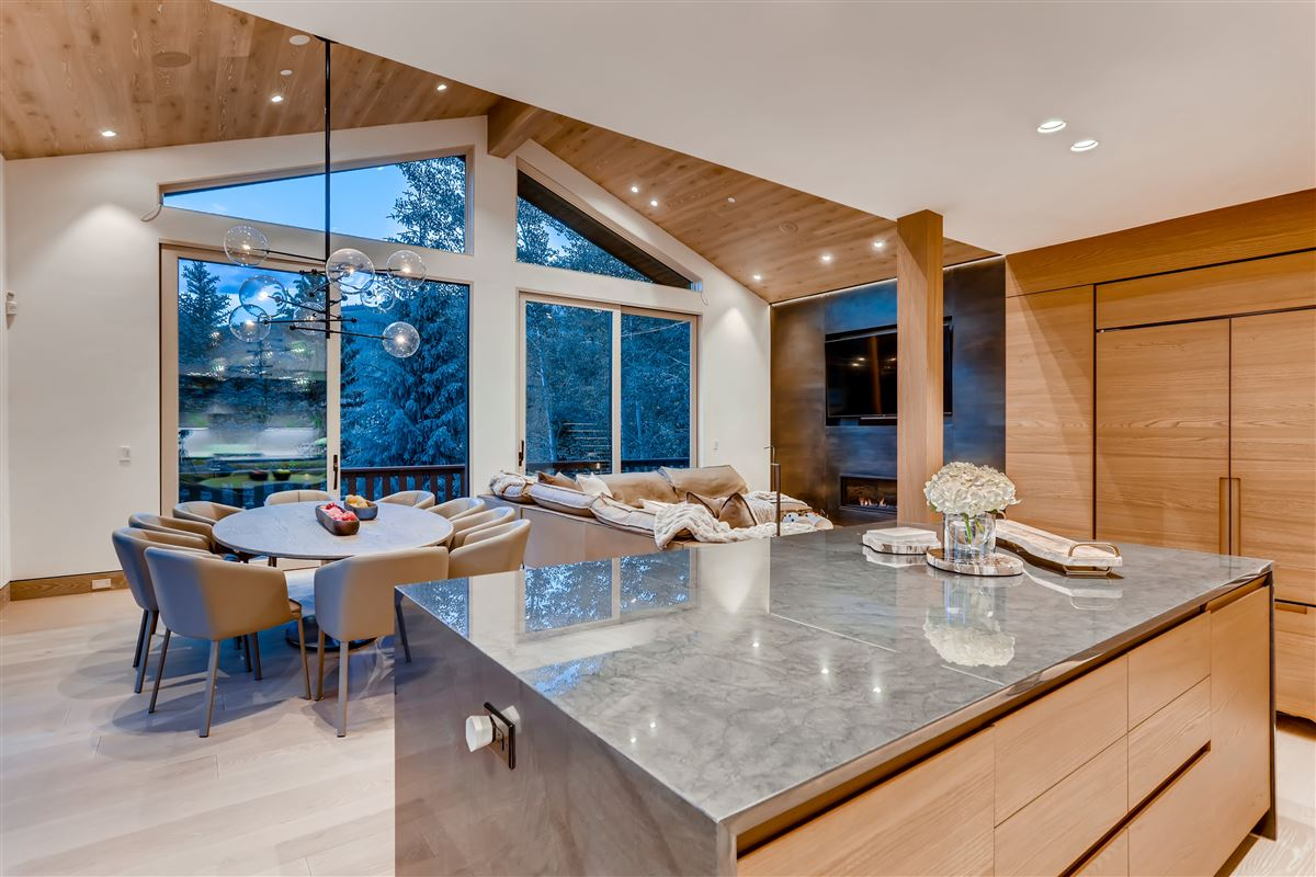 thoughtfully updated contemporary home luxury real estate