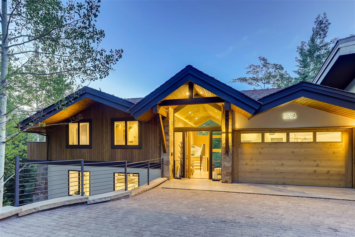 thoughtfully updated contemporary home luxury properties