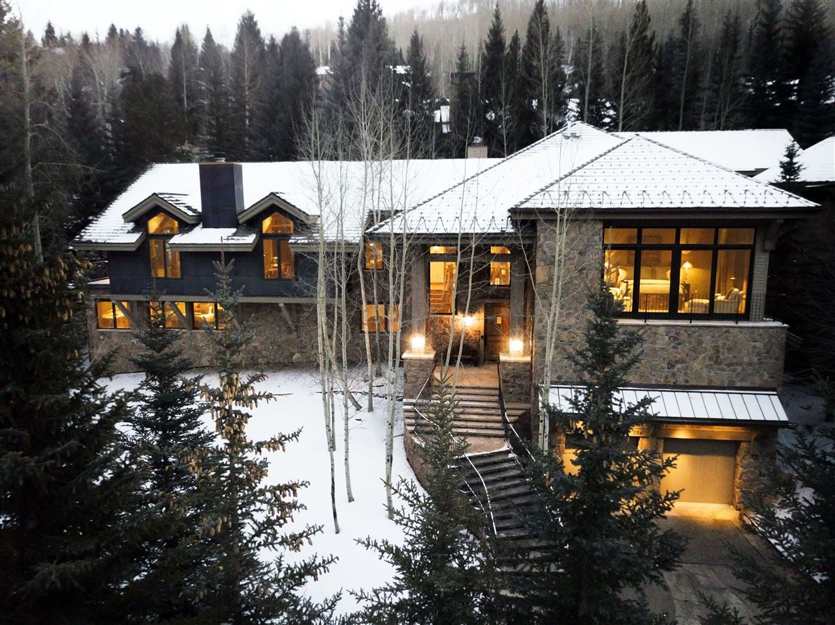 Luxury properties luxurious Vail Village Ski Chalet