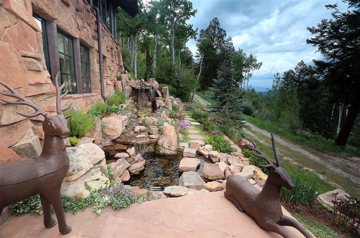 Luxury properties quintessential mountain retreat with open views