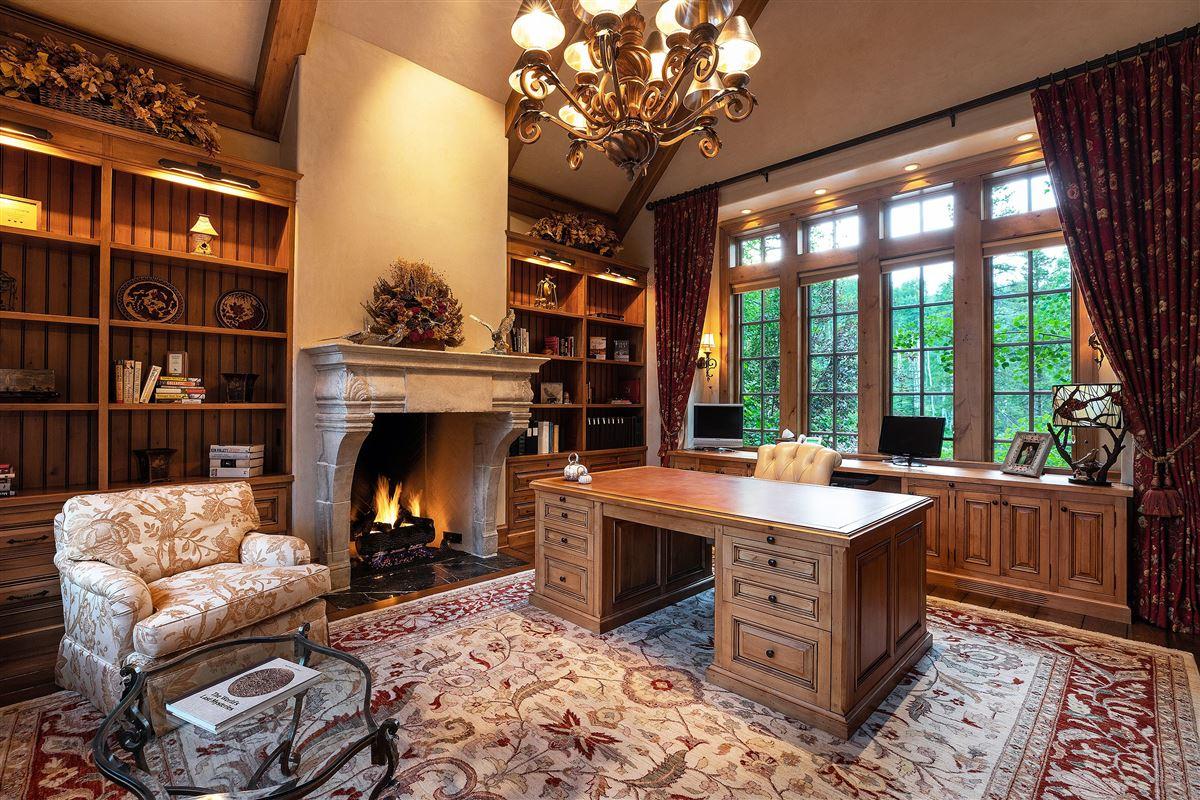 Spectacular views of the Gore Range luxury properties