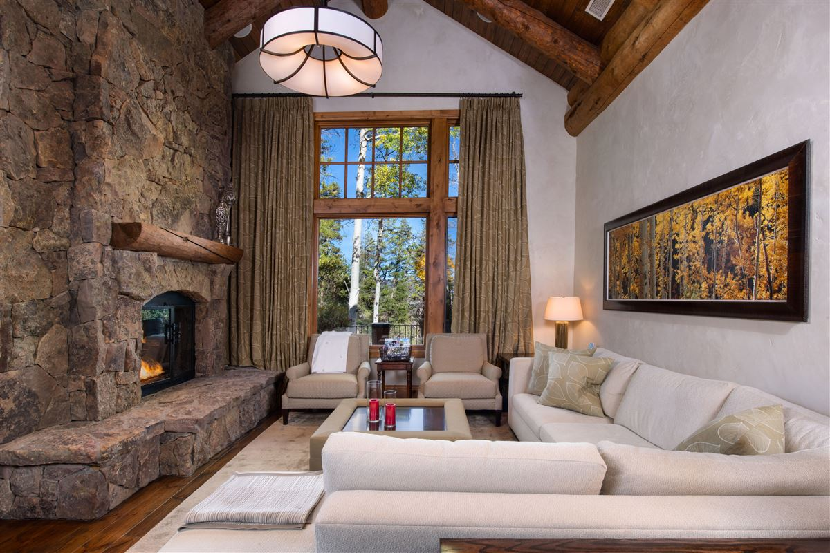 Luxury real estate stunning home offers abundant outdoor spaces