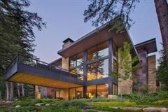 Luxury properties Mountain contemporary off the banks of Gore Creek