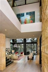Mountain contemporary off the banks of Gore Creek luxury homes
