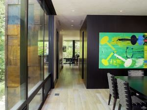 Luxury real estate Mountain contemporary off the banks of Gore Creek