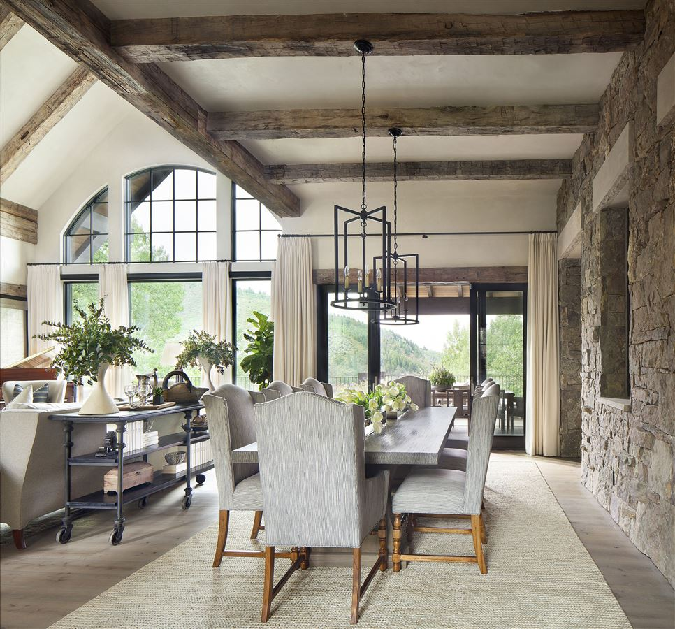 Natural and neutral  luxury homes