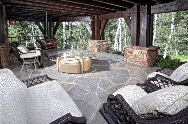 Luxury real estate true trophy property on the mountain