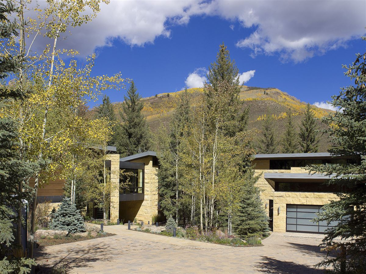 Luxury real estate one of the finest homes ever built in Vail Village