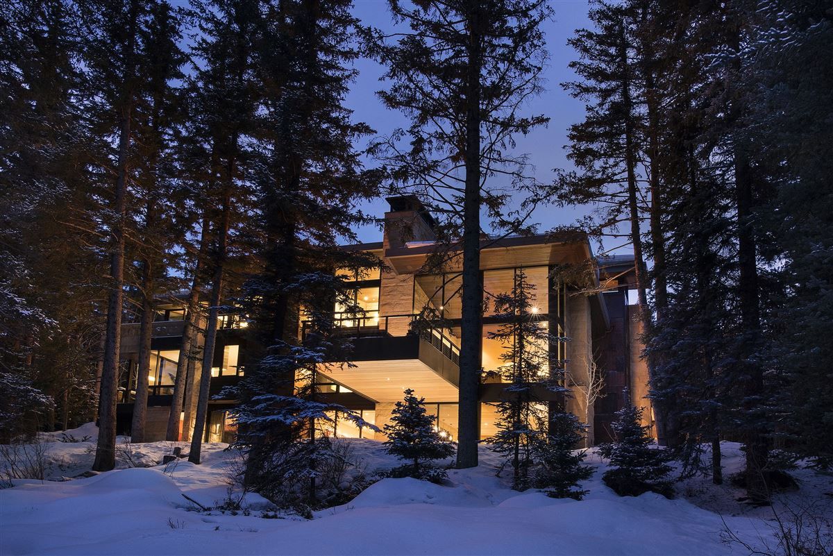 one of the finest homes ever built in Vail Village luxury real estate