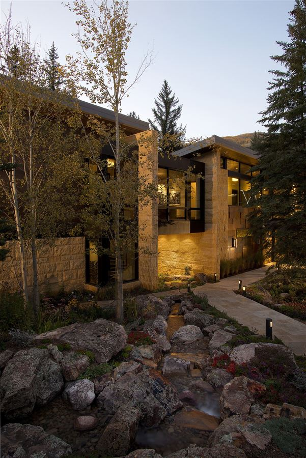 one of the finest homes ever built in Vail Village mansions