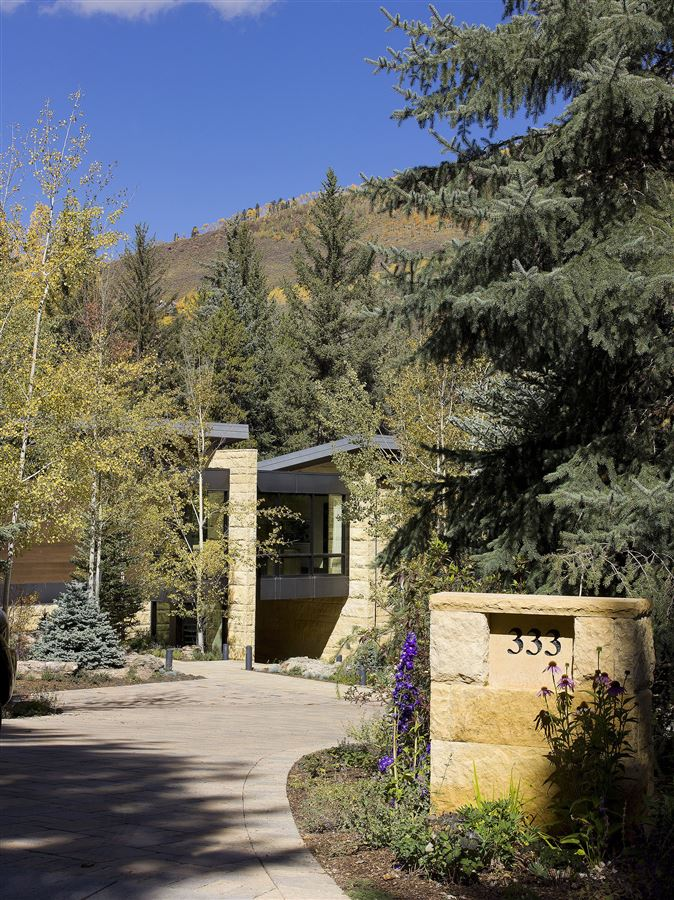 Mansions in one of the finest homes ever built in Vail Village