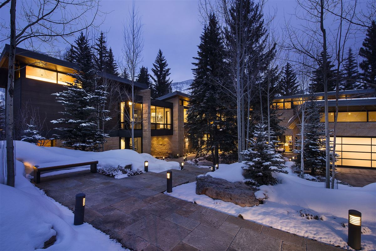 one of the finest homes ever built in Vail Village luxury homes