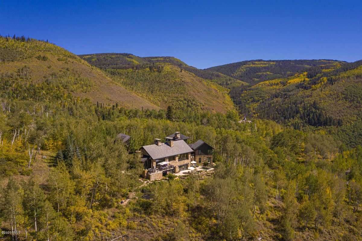 Luxury real estate six bedroom Mountain star home with sweeping Valley views