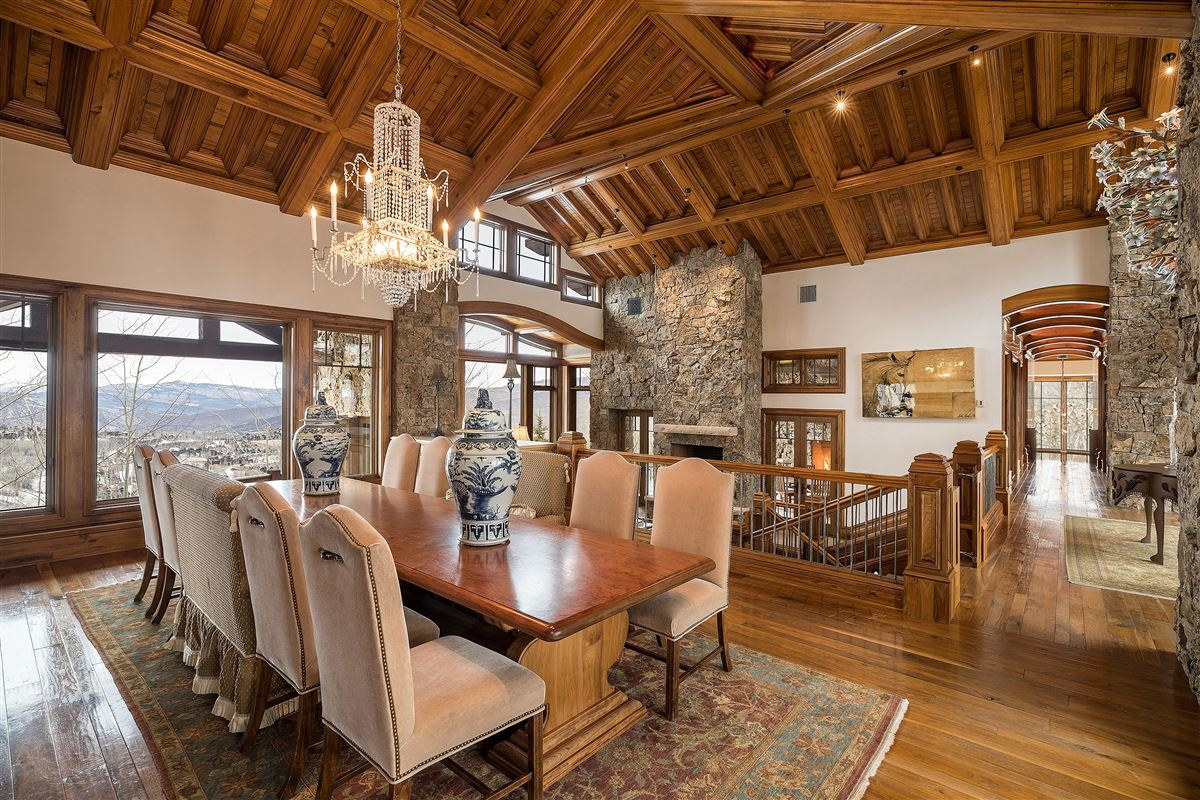 Luxury real estate Lovely European design in avon, Colorado
