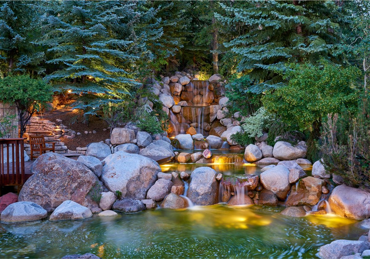 magnificent Aspen estate  luxury homes