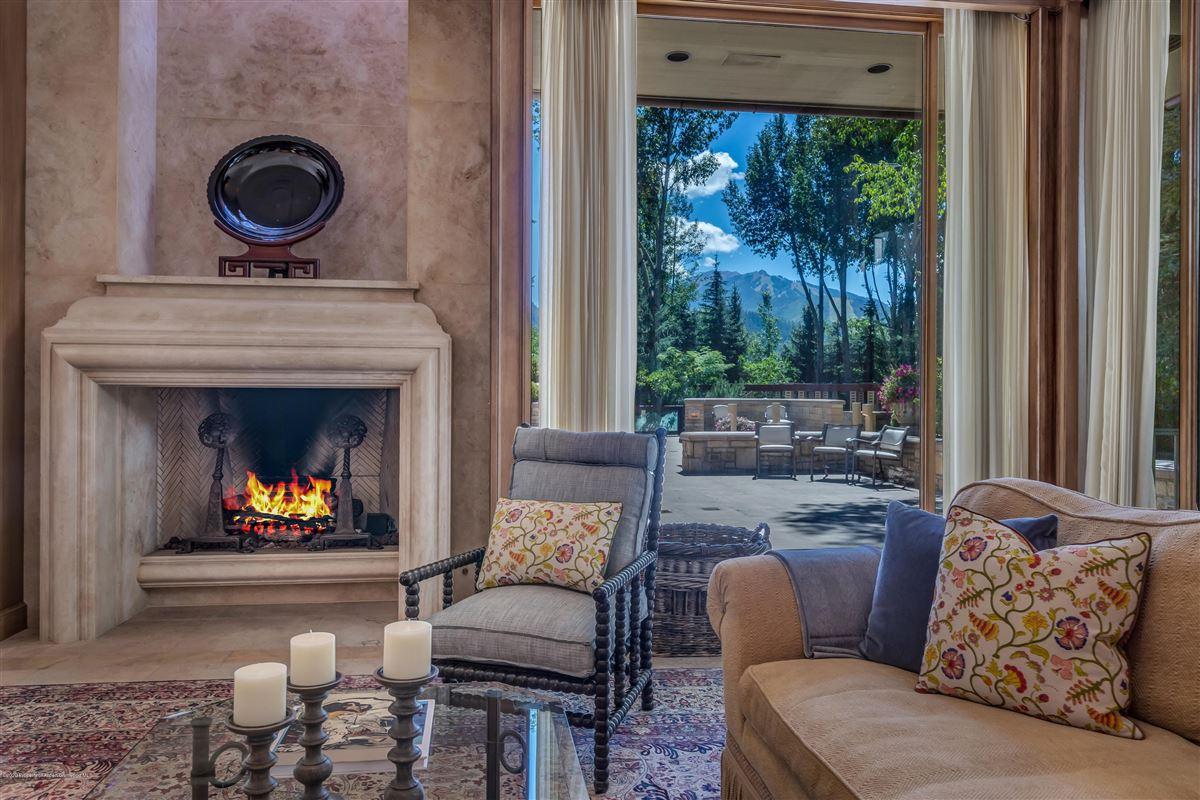 magnificent Aspen estate  luxury properties