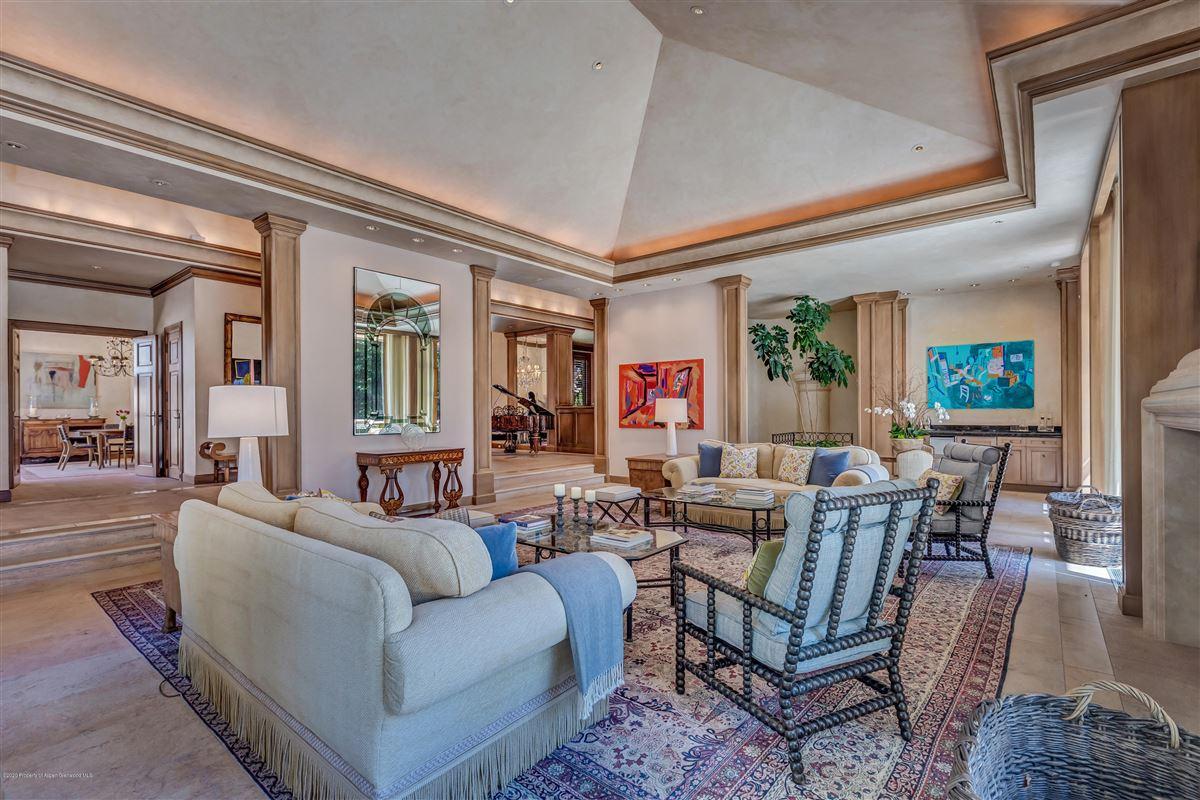 Mansions magnificent Aspen estate