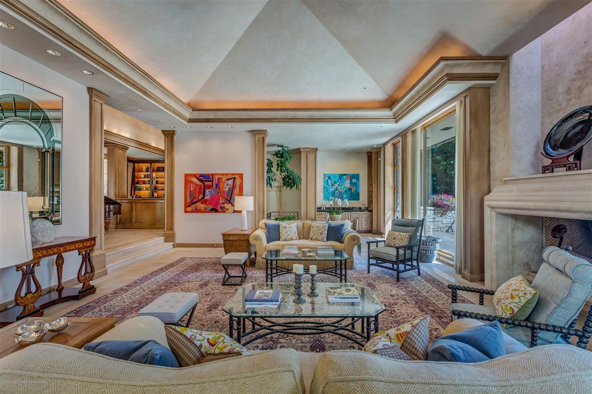 Luxury homes in magnificent Aspen estate