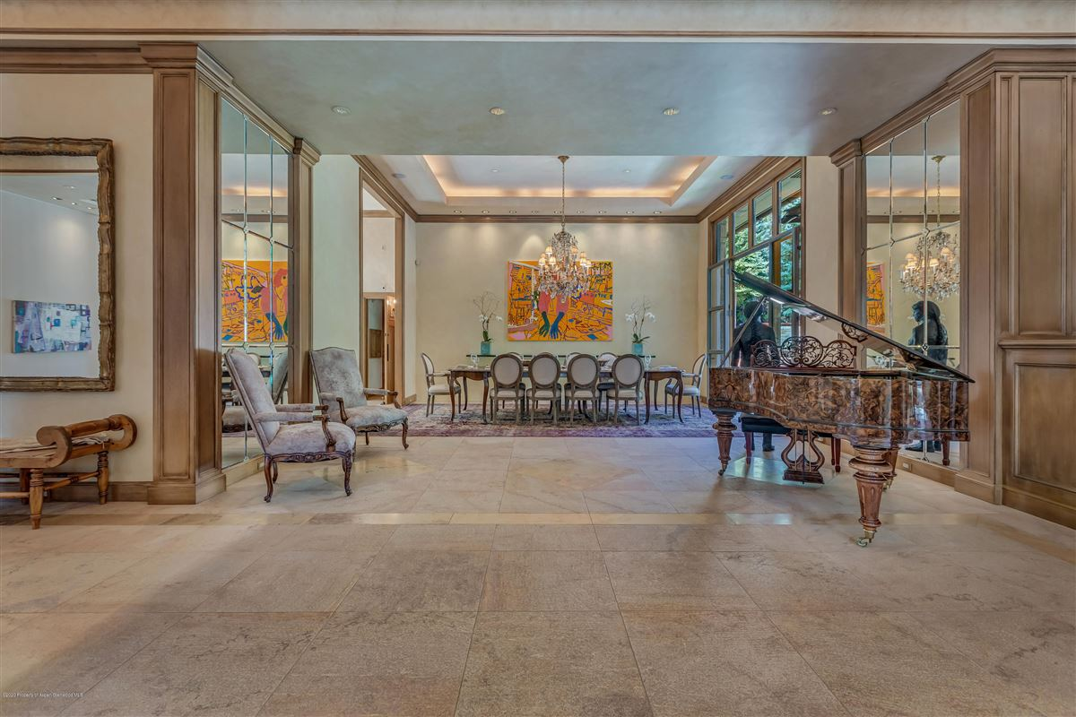 Luxury properties magnificent Aspen estate