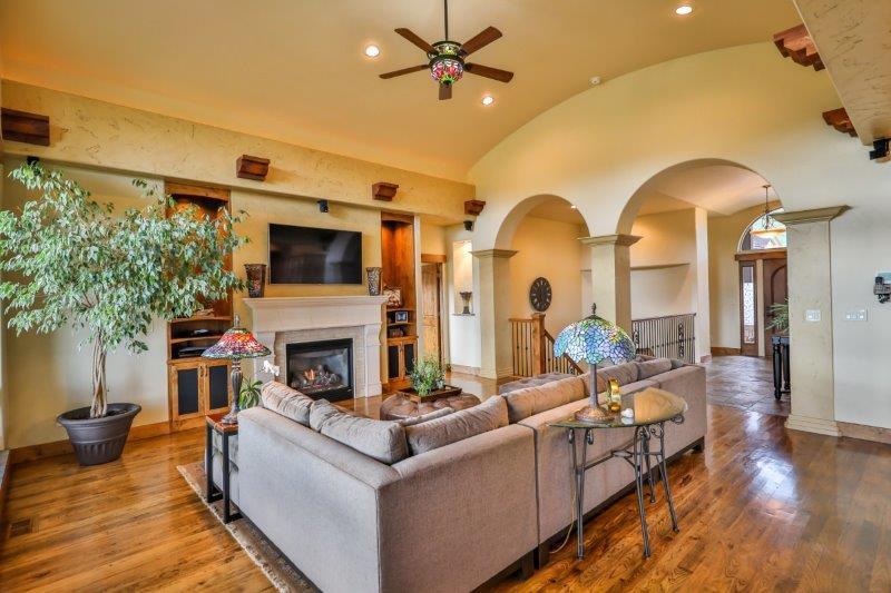 Mansions Stunning Custom Ranch