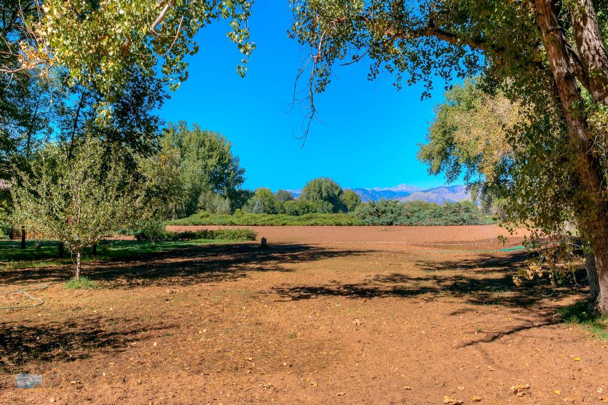 Mansions Over nine acres on Left Hand Creek