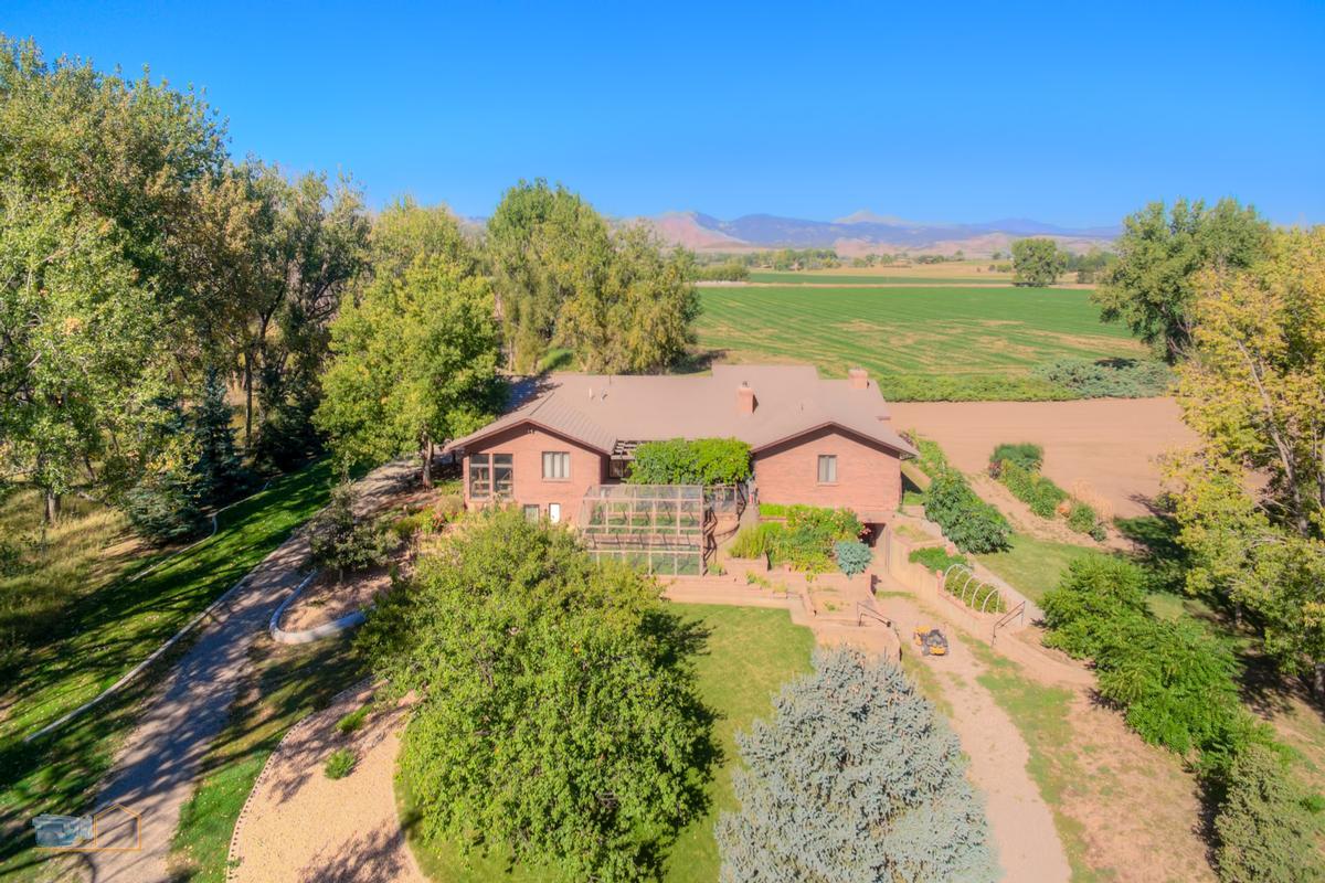 Over nine acres on Left Hand Creek luxury homes