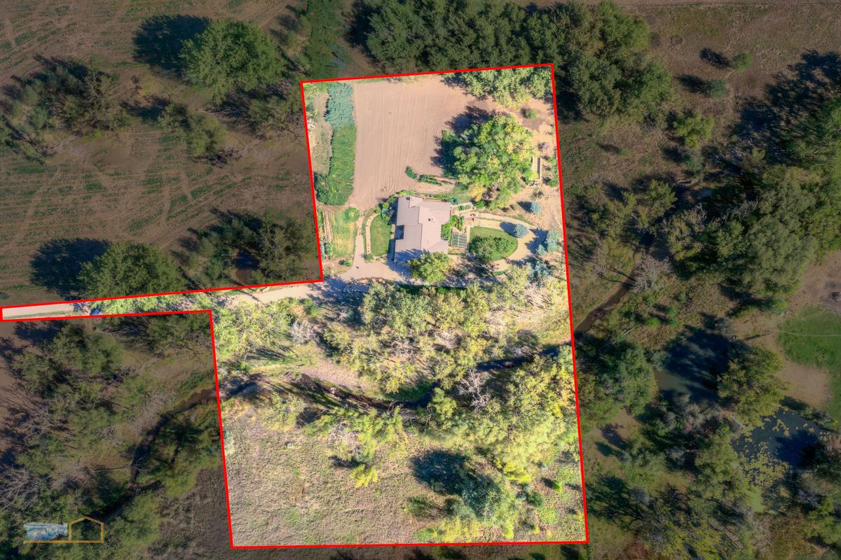 Over nine acres on Left Hand Creek luxury properties