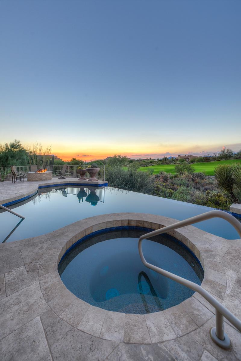 Troon North Golf Course and Mountain Views luxury homes