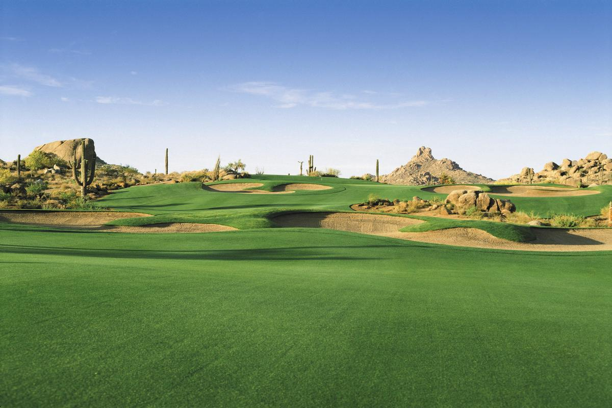 Troon North Golf Course and Mountain Views luxury real estate