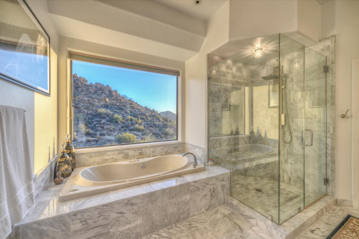 Expansive Views in Troon luxury real estate