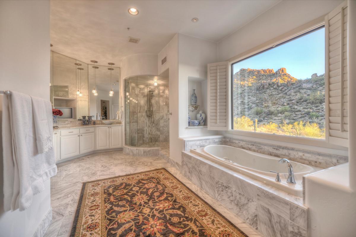 Expansive Views in Troon luxury properties