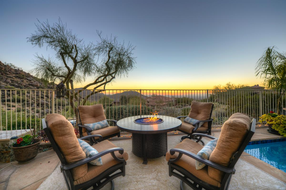 Expansive Views in Troon luxury homes
