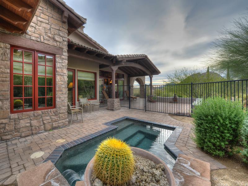 Mansions in The Rocks Residence Club, Scottsdale, Arizona