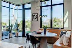 immaculate new mid-century modern mansions