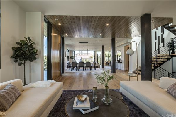 Luxury homes immaculate new mid-century modern