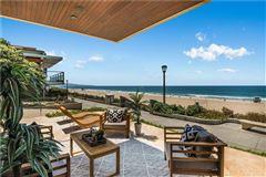 California oceanfront on The Strand luxury properties