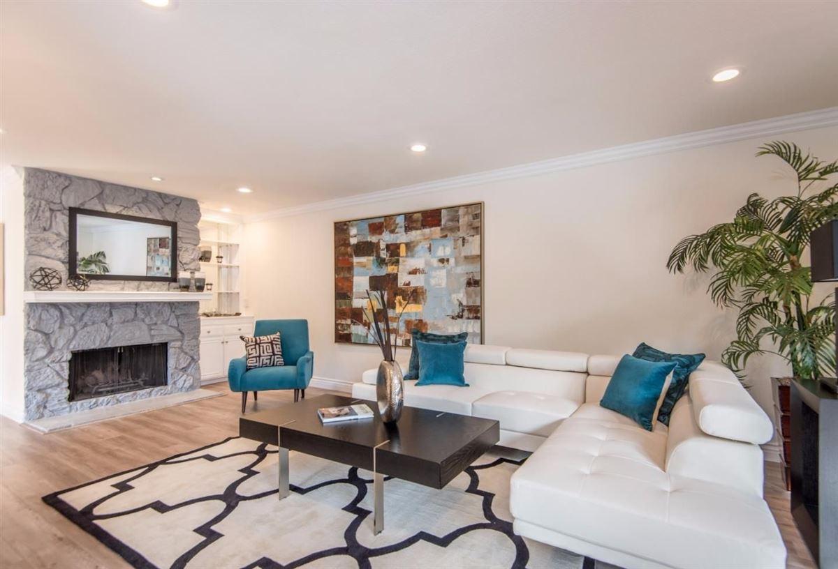 Luxury homes bright contemporary home in san carlos