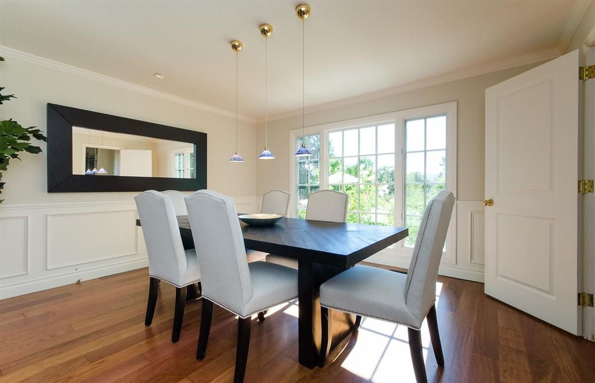 timeless appeal in desirable Sharon Heights luxury homes
