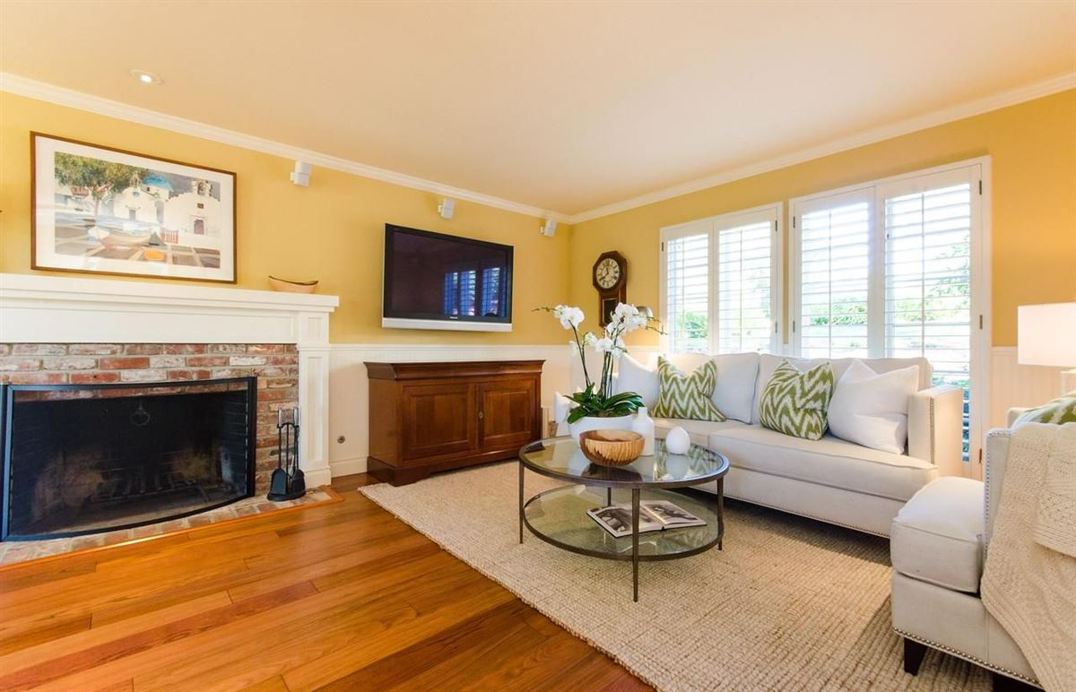 timeless appeal in desirable Sharon Heights mansions