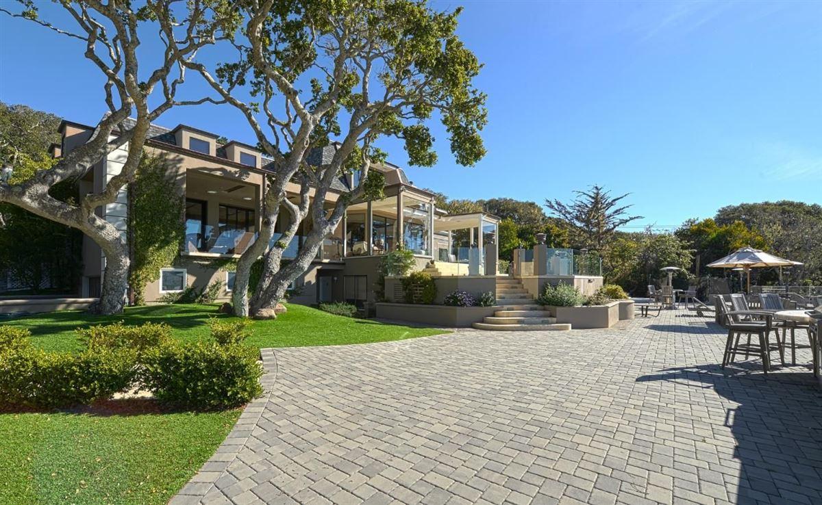 Luxury properties  landmark property in pebble beach