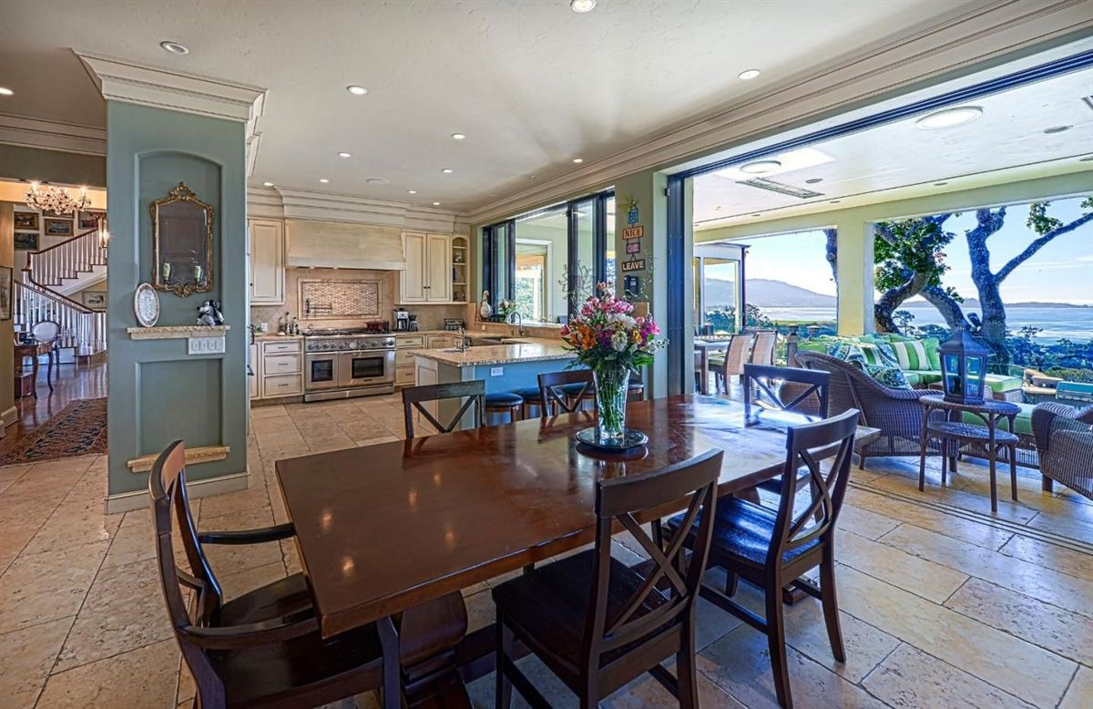 Luxury homes in  landmark property in pebble beach