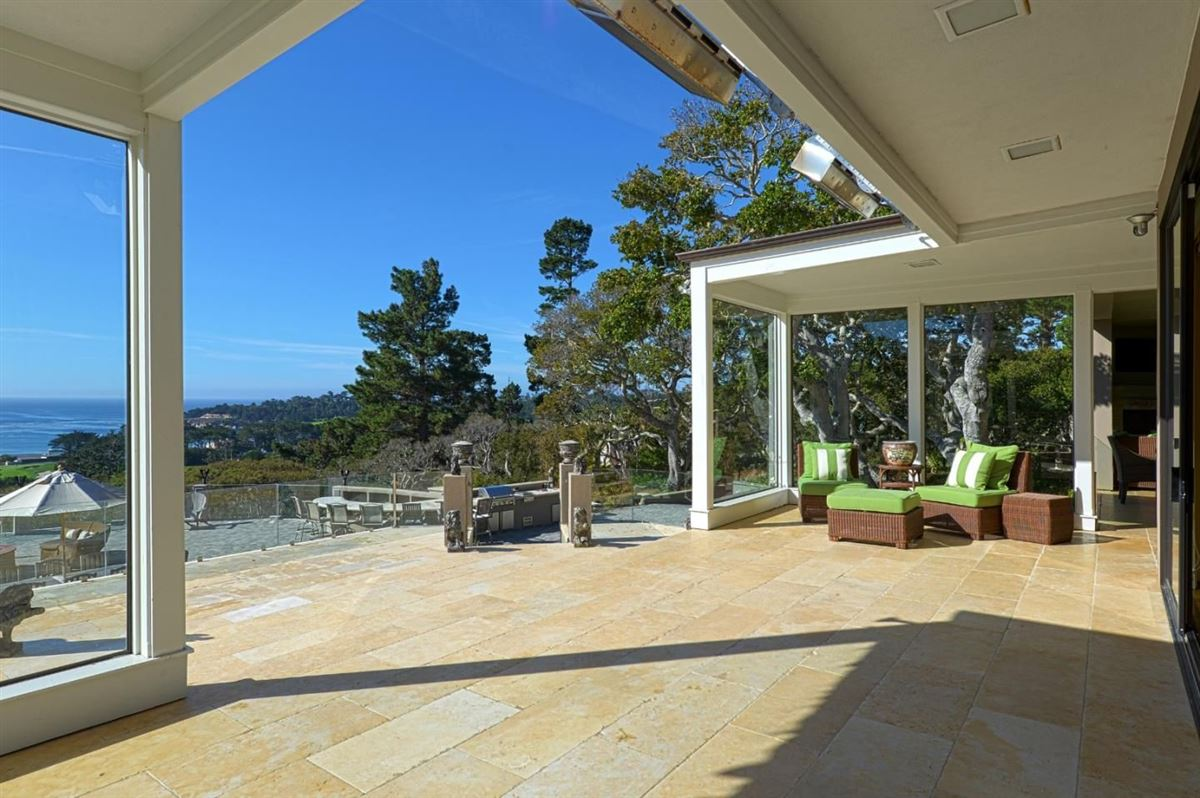 Luxury homes  landmark property in pebble beach