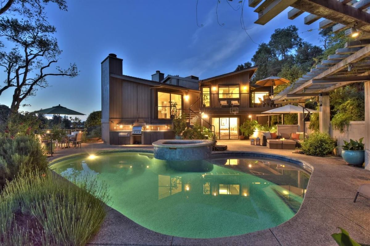 Mid-century modern classic luxury real estate