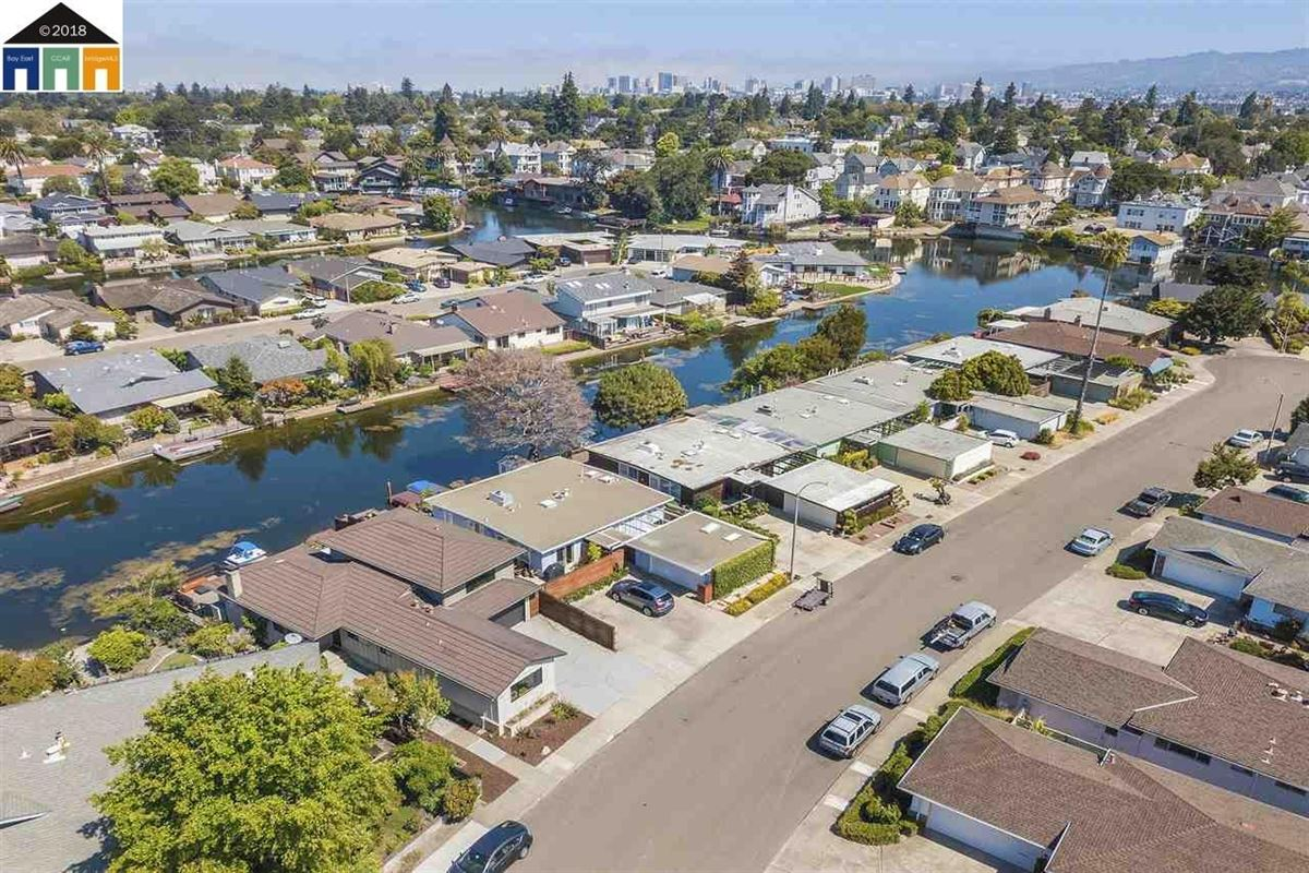 extensively updated mid-century lagoon home luxury real estate