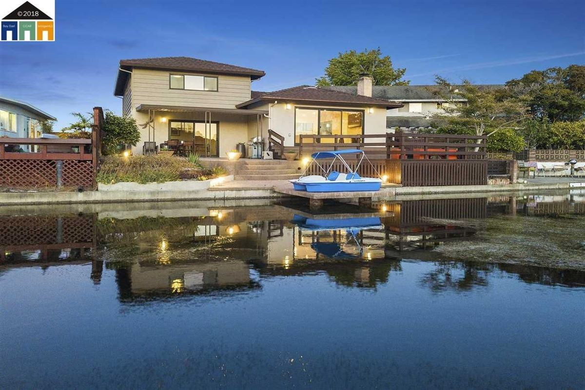extensively updated mid-century lagoon home luxury homes