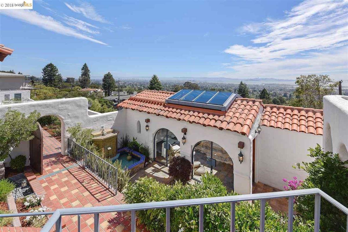 Luxury properties retreat in the heart of the North Berkeley Hills